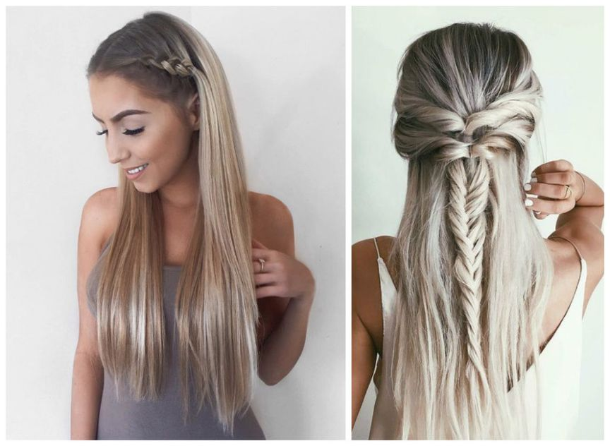 Easy Back to School Hairstyles - ZALA Clip in Hair extensions