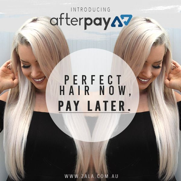 extensions de cheveux afterpay
