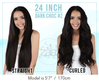 Zala - QUADWEFT Clip in Hair Extensions 2