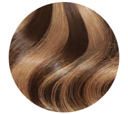 brown with blonde highlighted hair extensions