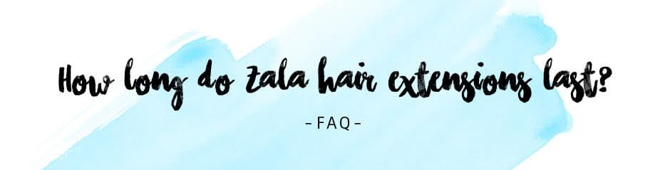 How long do clip in hair extensions last?