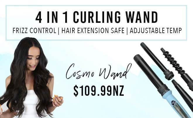 ZCurling wand 5 heads for hair extensions tool